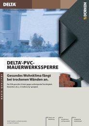 DELTA®-PVC- MAUERWERKSSPERRE