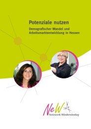 Potentiale nutzen - Demografischer Wandel und  ... - ESF Hessen