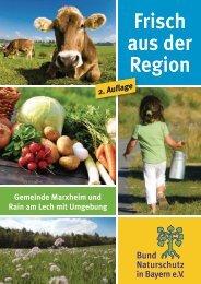 Broschüre -  Bund  Naturschutz Kreisgruppe Donau-Ries
