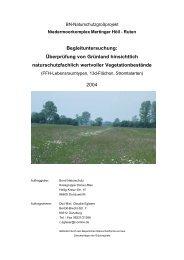 Bericht -  Bund  Naturschutz Kreisgruppe Donau-Ries