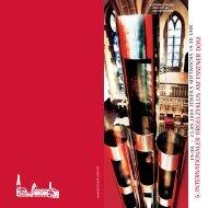 Programm des Orgelzyklus - Domschatz