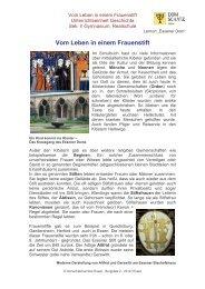 fileadmin/user_upload/PDF/Vom Leben in einem ... - Domschatz