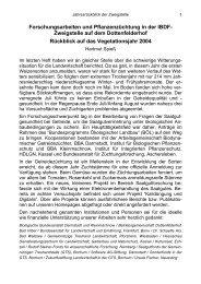 Forschungsbericht 2004 - Dottenfelderhof