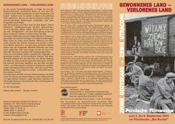 ziemie utracone - Deutsch-Polnische Gesellschaft Berlin