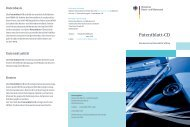 Patentblatt-CD - DPMA