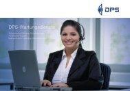 DPS-Wartungsdienste - DPS Software GmbH