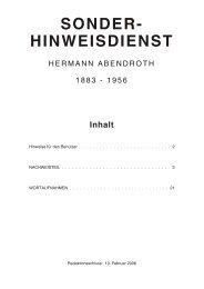 Aufnahmen mit Hermann Abendroth