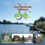 Broschüre als PDF-Datei (8,5 MB) - Samtgemeinde Heemsen