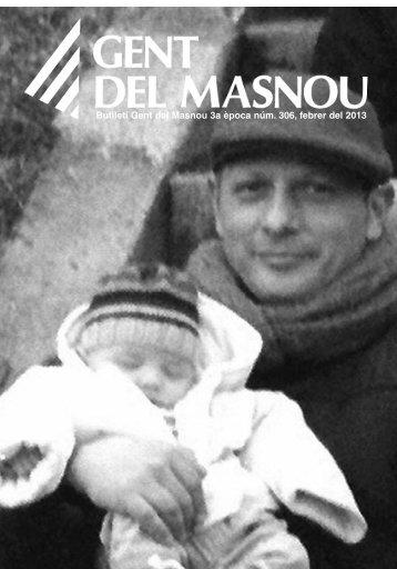 Butlletí nº 302, Febrer 2013 - Gent del Masnou