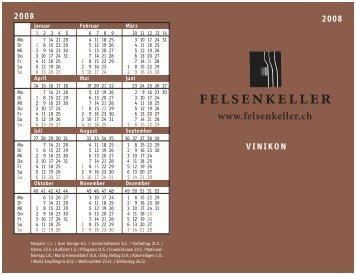 Vinikon 02 Inhalt - Felsenkeller AG