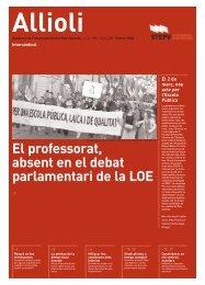 ALLIOLI 191 ADE.qxd - Intersindical Valenciana