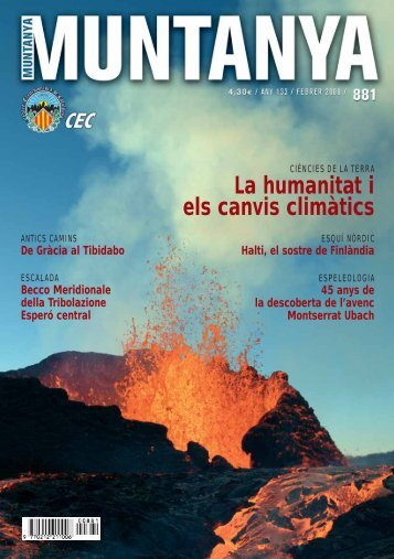 La humanitat i els canvis climàtics - Centre Excursionista de Catalunya