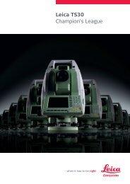 Leica TS30 Champion's League - allsat