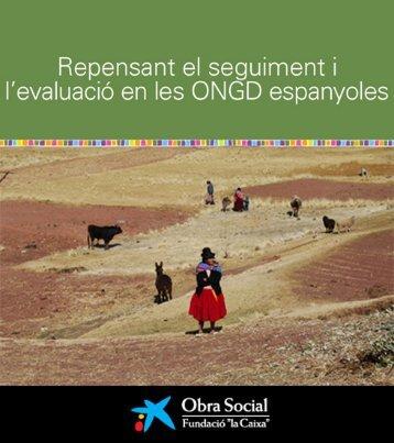 RePeNSANT eL SeGUIMeNT I L'AVALUACIÓ eN LeS ONGD ...