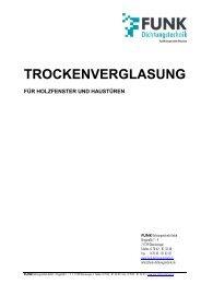 TROCKENVERGLASUNG - dress System