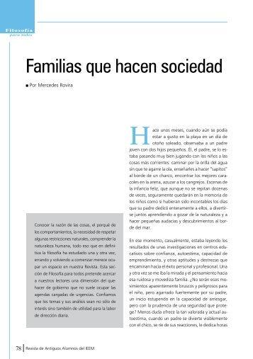 Familias que hacen sociedad - IEEM