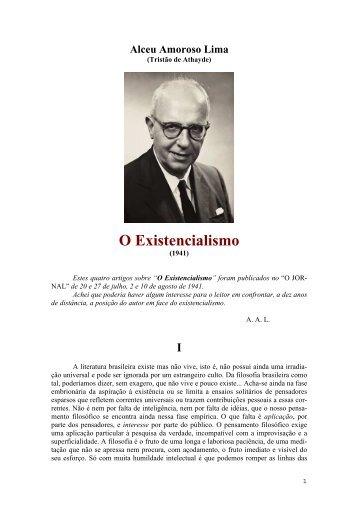 Alceu Amoroso Lima - Curso Independente de Filosofia