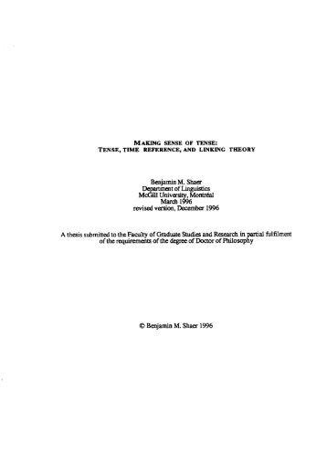 Benjamin M. Shaer McGiii Universi , Montréai March 1 % 6 revised ...