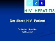 Der ältere HIV- Patient - Dr. Knechten