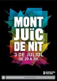 [ pdf ] Programa Montjuïc de Nit 2010 - Ajuntament de Barcelona