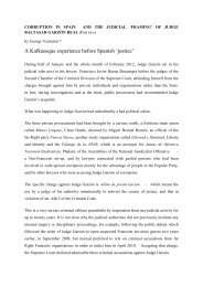 'Framing' Of Judge Baltasar Garzón Real (PDF) - Countercurrents.org