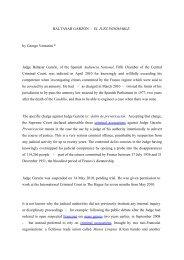 BALTASAR GARZÓN - EL JUEZ INDOMABLE - Countercurrents.org