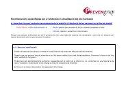 Recomanacions pla d'actuacio grip A - PREVENgrup
