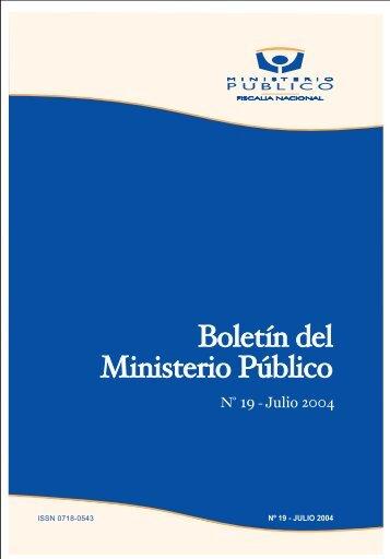 Boletin Ministerio Publico - DSpace Biblioteca Universidad de Talca