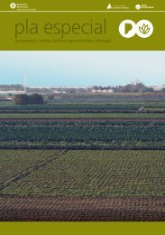 Pla Especial de Protecció i Millora del Parc Agrari del Baix Llobregat