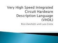 VHDL - HTW Chur