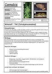 Cannabis - Drobs eV Dachau