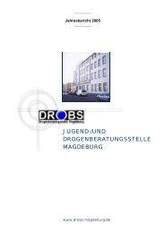 DROBS Sachbericht Layout 2005.pub - und Drogenberatungsstelle  ...