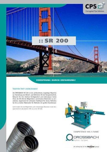 :: SR 200 - Drossbach GmbH & Co. KG