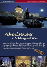 Adventszauber - Droste-Reisen