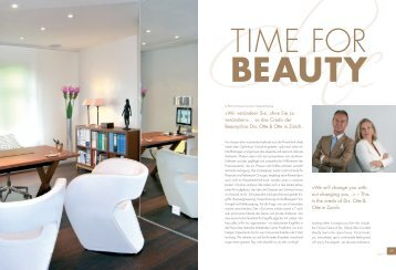 """Luxury Life Magazine: """"Time for Beauty"""" - Dr. Otte & Otte"""