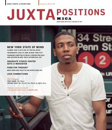 March 2013 Issue - Maryland Institute College of Art