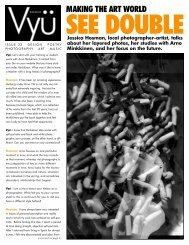 MAKING THE ART WORLD - Vyu Magazine