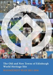 The Old and New Towns of Edinburgh World Heritage Site - City of ...