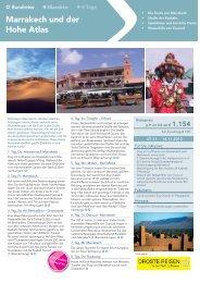 Marrakech Flyer NEU.indd - Droste-Reisen