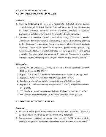 1. Principiile fundamentale ale Economiei. Raţionalita