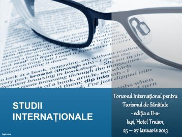 download prezentare studii - Turismul de Sanatate