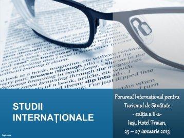 download prezentare studii - Turismul de Sanatate