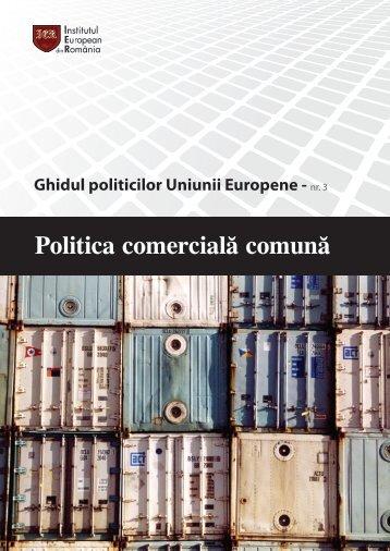 Ghidul politicilor Uniunii Europene - Institutul European din Romania