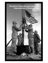 Beneficios Federales para Veteranos Dependientes y Sobrevivientes