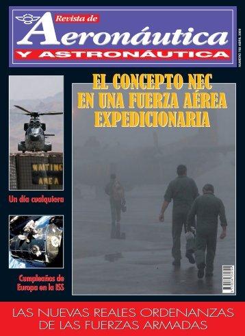 revista de aeronáutica y astronáutica nº 782 - abril 2009 - Portal de ...
