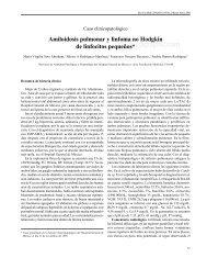 Amiloidosis pulmonar y linfoma no Hodgkin de ... - E-journal - UNAM