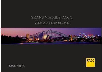 GRANS VIATGES RACC