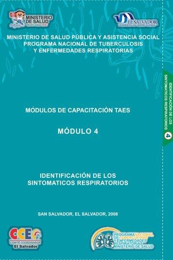 MÓDULO 4 - Ministerio de Salud