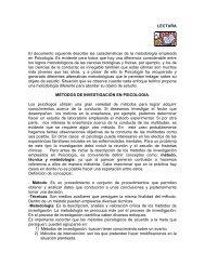 Métodos de investigación en psicología - Portal Académico del CCH ...