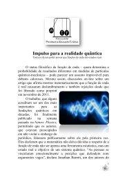 Impulso para a realidade quântica - Unifap